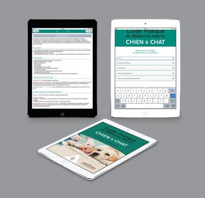 Application guide de médecine interne chien & chat